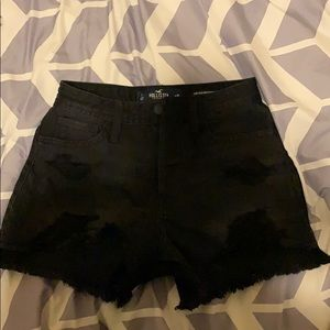Hollister high rise mom short